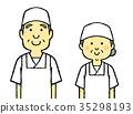 店员 售货员 男人和女人 35298193