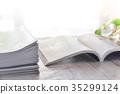 Magazine image catalog magazine 35299124