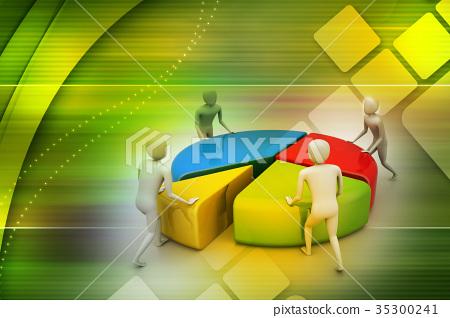 Team work, business concept 35300241