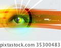 eye watched digital 35300483