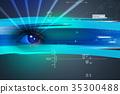 eye digital color 35300488