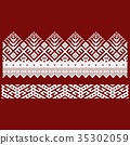 Traditional embroidery. Vector illustration of 35302059