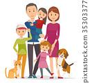 家庭 家族 家人 35303377