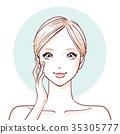 女人 女性 女生 35305777