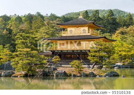 Kinkaku-ji or the Golden Pavilion, Kyoto, Japan 35310138