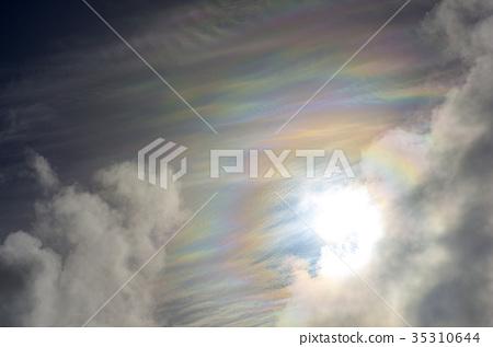 Colored Clouds Stock Photo 35310644 Pixta