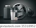 sport, shaker, protein 35310952