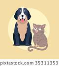 dog cat icon 35311353