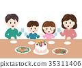 가족, 패밀리, 크리스마스 35311406