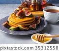 煎餅 堆 南瓜 35312558