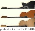 guitar horizontal banner 35313406