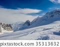 mountain, winter, landscape 35313632