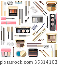 Vector Eyes Makeup Cosmetics 35314103