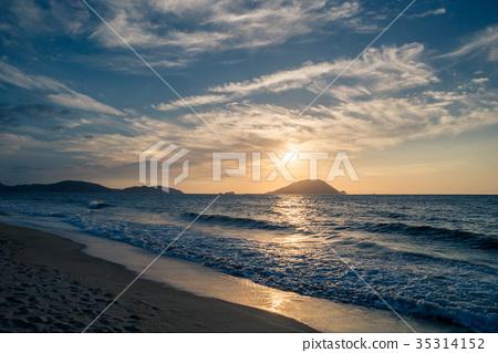 저녁의 모래 (HDR) 35314152