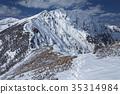 설경, 북 알프스, 풍경 35314984