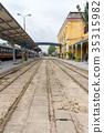 rail, railroads, rails 35315982