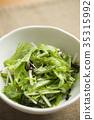 채소와 소금 다시마 샐러드 35315992