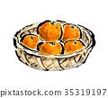 fruit, fruits, mandarin orange 35319197