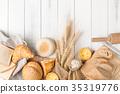 面包房 面包 谷类 35319776