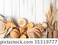 面包房 面包 谷类 35319777