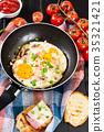egg food tomato 35321421