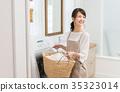 洗衣店 洗涤 主妇 35323014