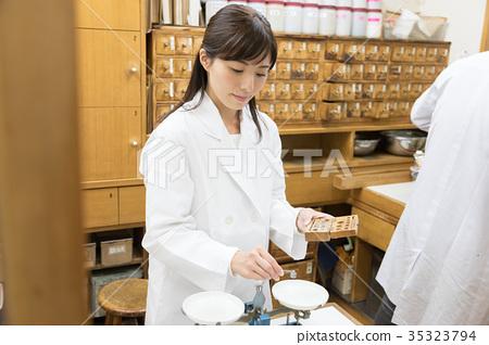 Chinese medicine pharmacy image 35323794