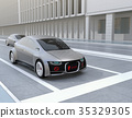 electric car, automatic operation, carriage 35329305