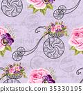 Seamless floral pattern 35330195