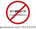 No drone zone, Vector 35333350