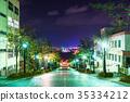 北海道ฮอกไกโด》 Hakodate · Hachimanzaka วิวกลางคืน 35334212