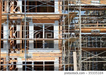 美国建筑工地 35335104