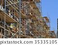 미국의 건축 현장 35335105