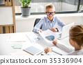 Positive children are laboring with pleasure 35336904
