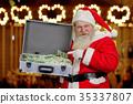 banknotes, christmas, man 35337807