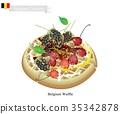Belgium Waffle, A Famous Dish of Belgium 35342878