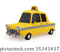 taxi taxis yellow 35343437