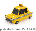 taxi taxis yellow 35343438