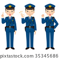 police officer, gents, male 35345686