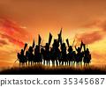 戰國時代 戰國 騎兵 35345687