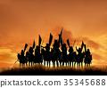 戰國時代 戰國 騎兵 35345688