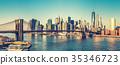 曼哈顿 布鲁克林 桥 35346723
