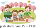 樱花 樱桃树 家庭 35351930
