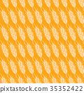 wheat seamless pattern 35352422