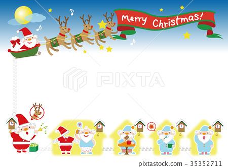 圣诞老人 圣诞老公公 圣诞快乐 35352711