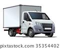 矢量 矢量图 卡车 35354402