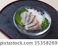 马鲭鱼生鱼片 35358269