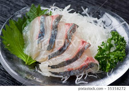 马鲭鱼生鱼片 35358272