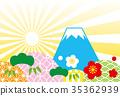 เทมเพลตภูเขาฟูจิที่กำลังมา 35362939