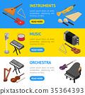 instrument banner horizontal 35364393
